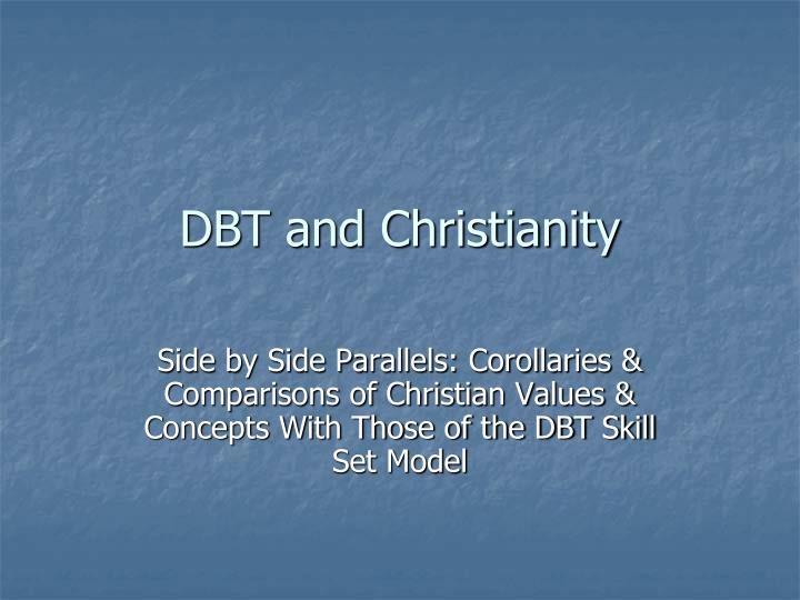 dbt and christianity n.