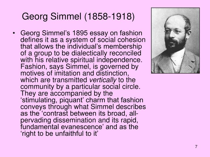 simmel and veblen Simmel, veblen and sombart, they all underline the fact that consumption becomes individuals' center of life, their main aim is to reach to an utopia by satisfying the needs which will never be.
