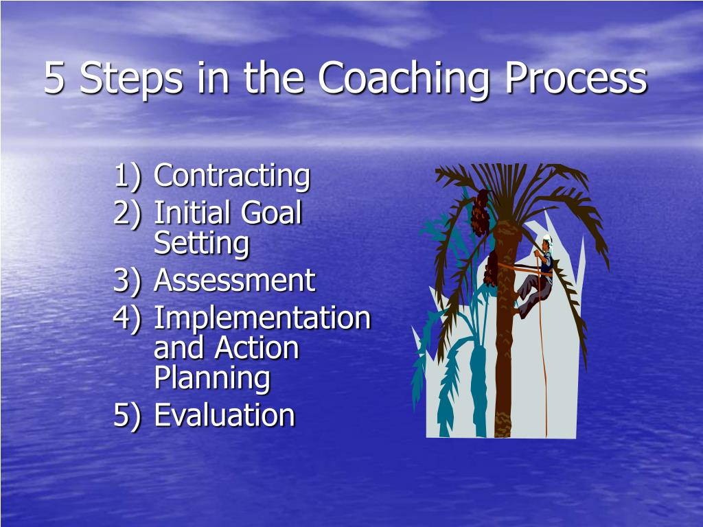 5 Steps in the Coaching Process