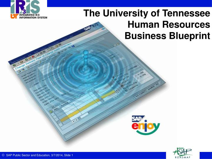 Ppt the university of tennessee human resources business blueprint the university of tennesseehuman resourcesbusiness blueprint slide2 agenda business blueprint executive summary malvernweather Image collections