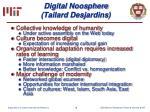 digital noosphere tailard desjardins