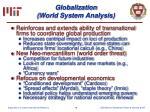 globalization world system analysis