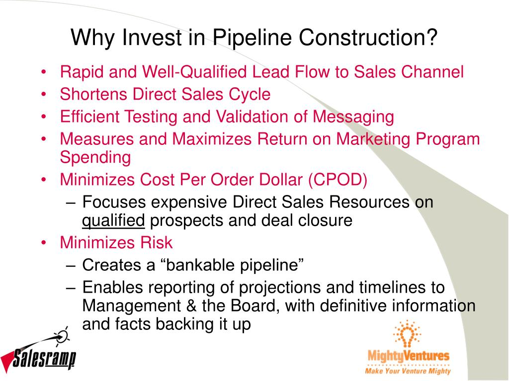 Why Invest in Pipeline Construction?