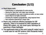 conclusion 2 2