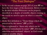 the first dialogue16