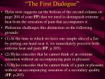 the first dialogue21