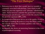 the first dialogue23