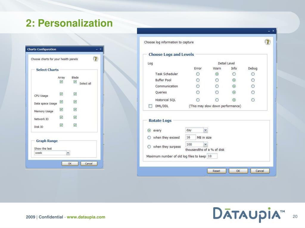 2: Personalization
