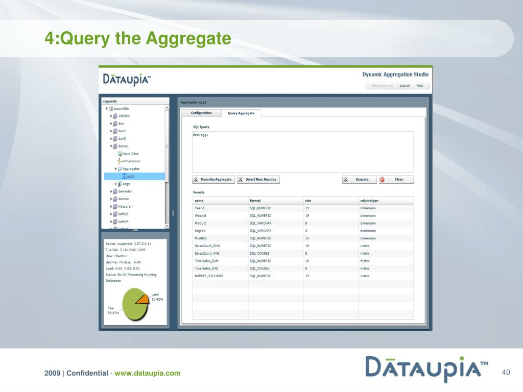 4:Query the Aggregate