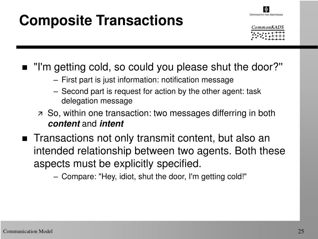 Composite Transactions