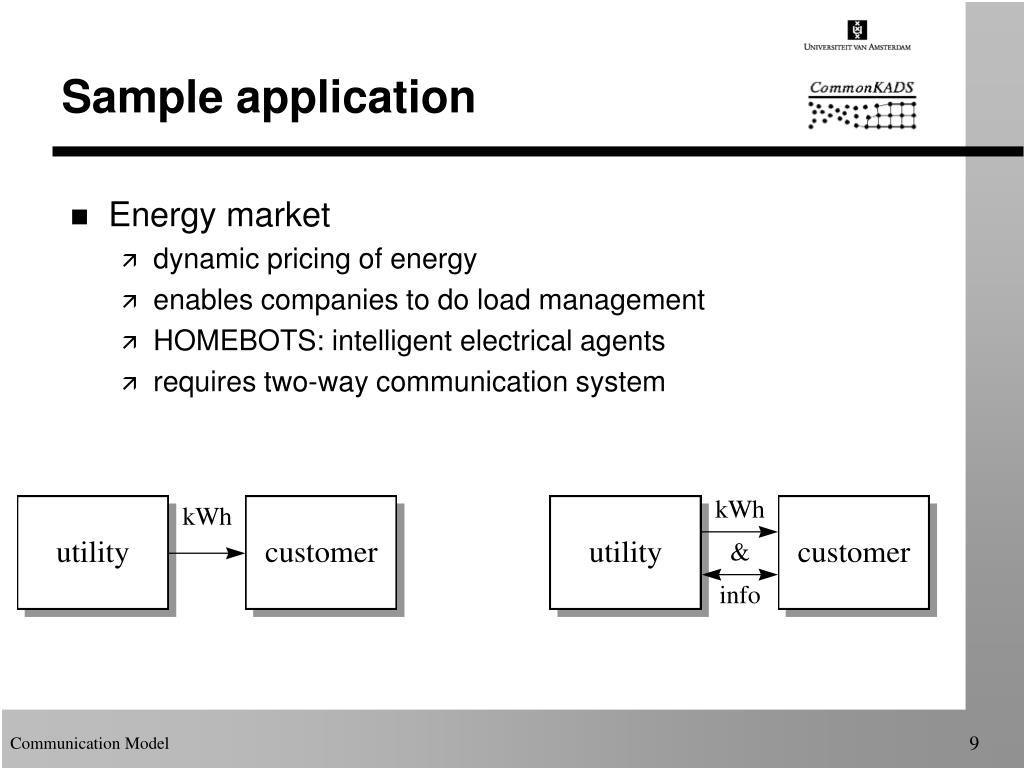 Sample application