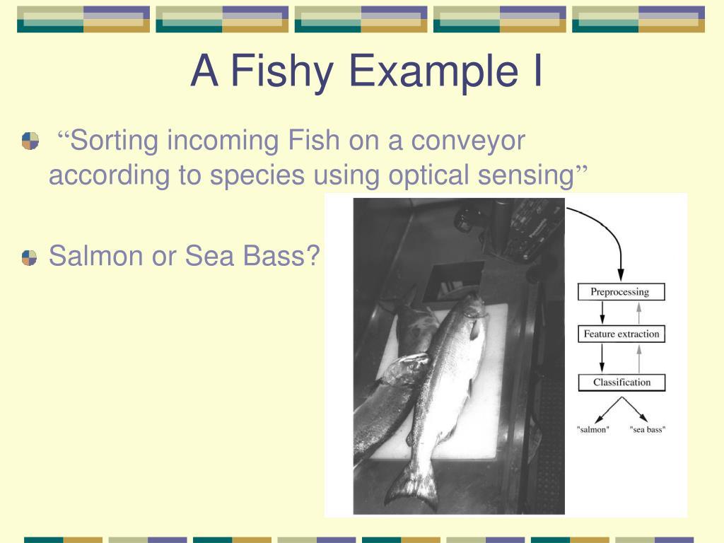 A Fishy Example I