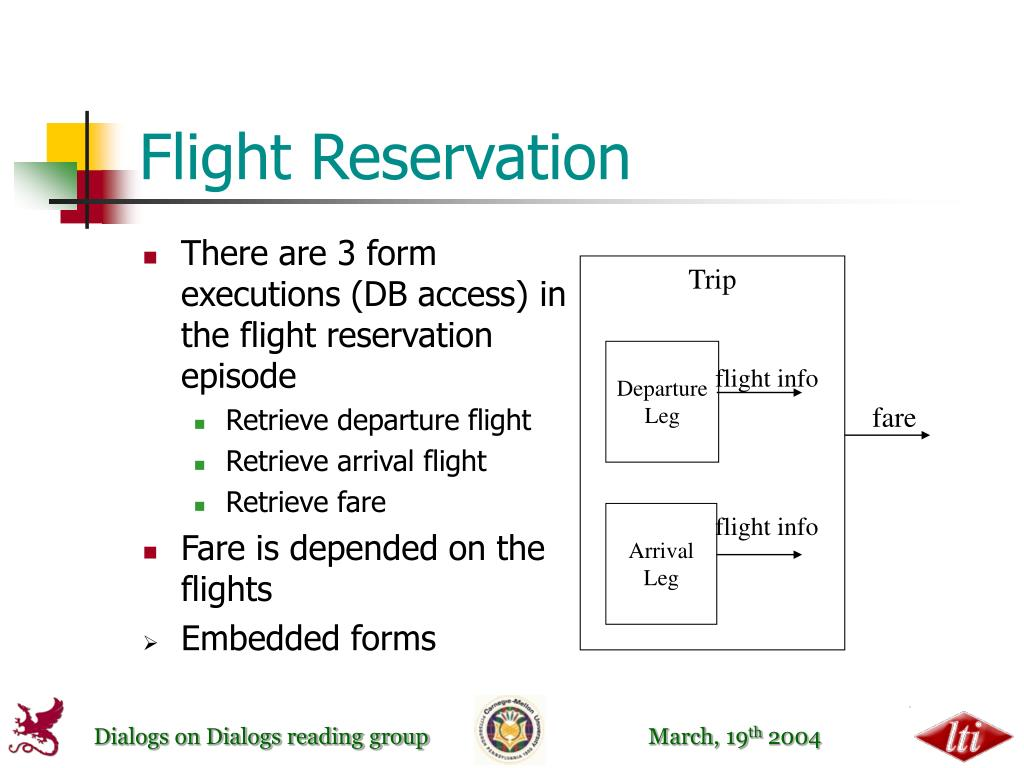 Flight Reservation