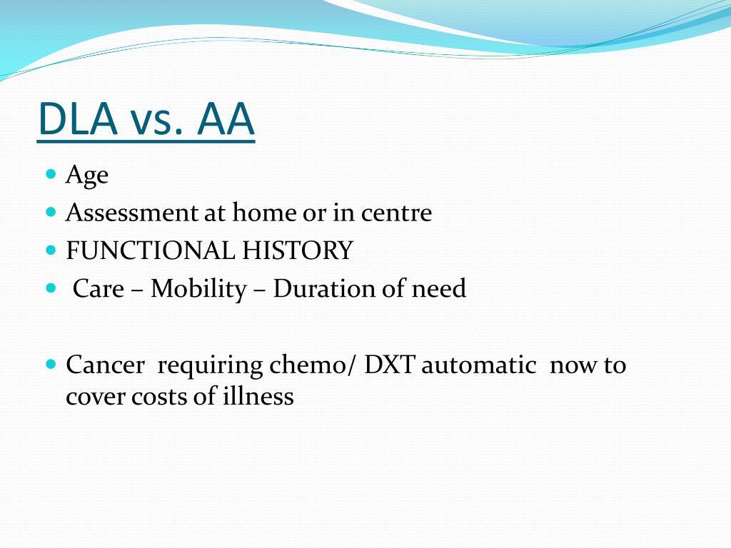 DLA vs. AA
