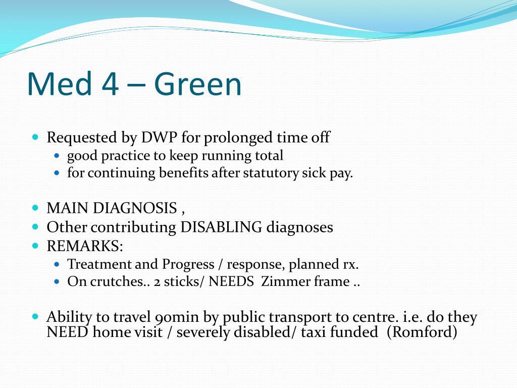 Med 4 – Green