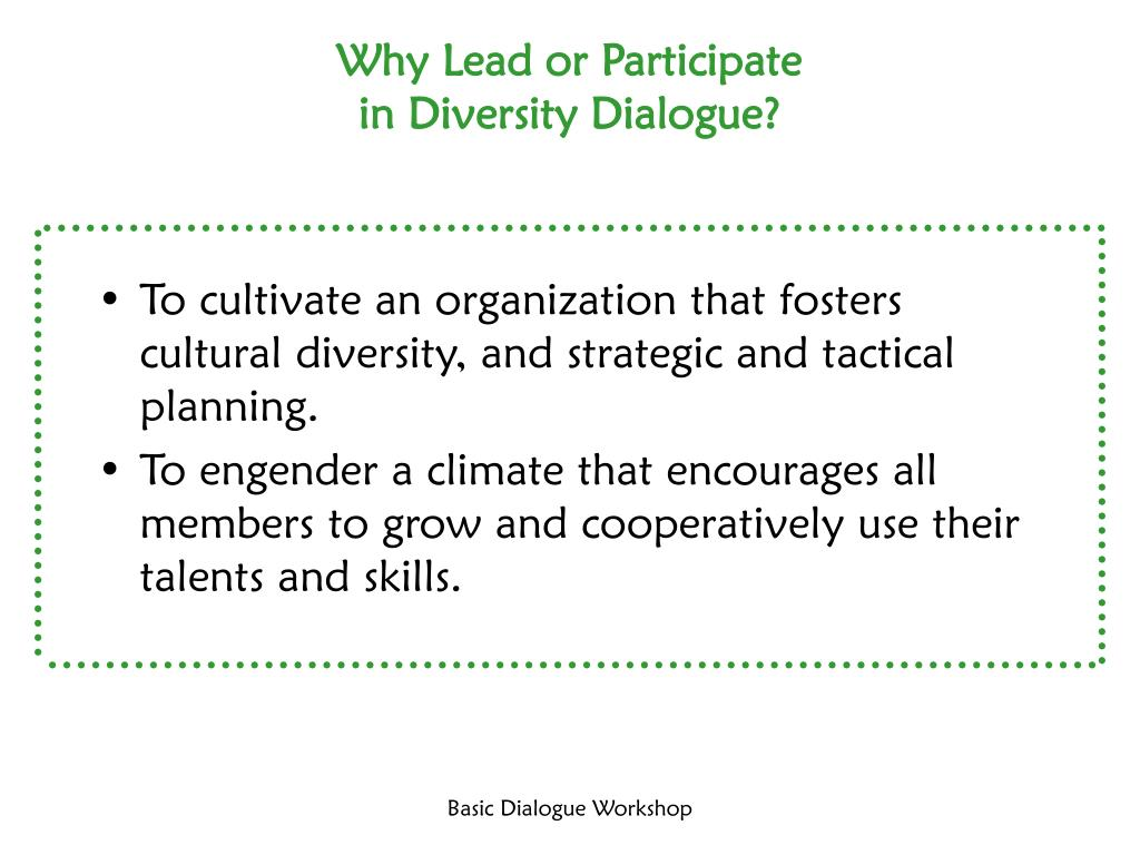 Why Lead or Participate