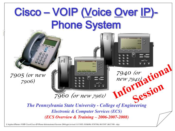 cisco voip v oice o ver ip phone system n.