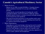 canada s agricultural machinery sector