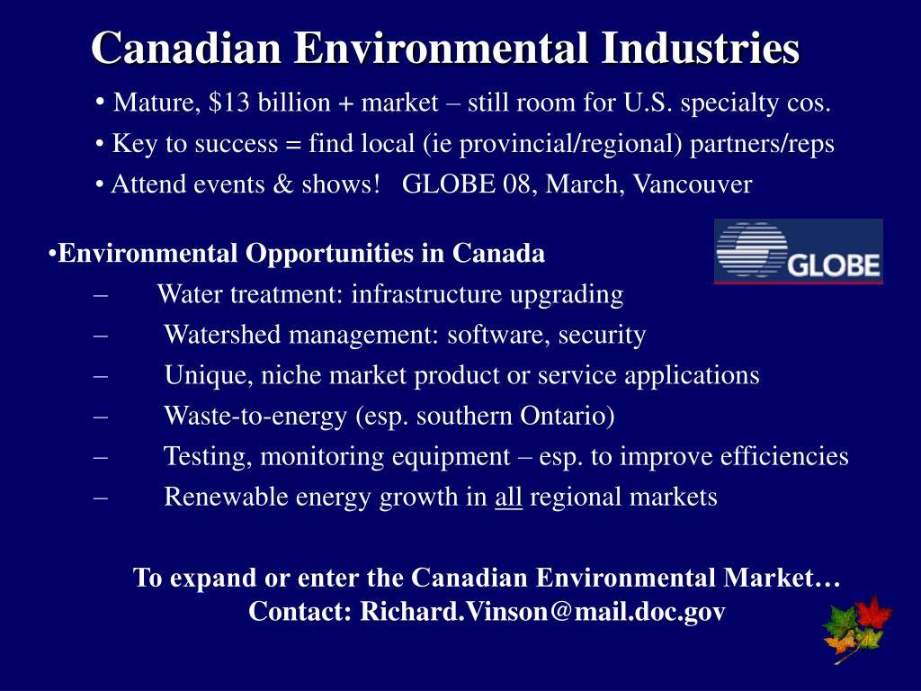 Canadian Environmental Industries
