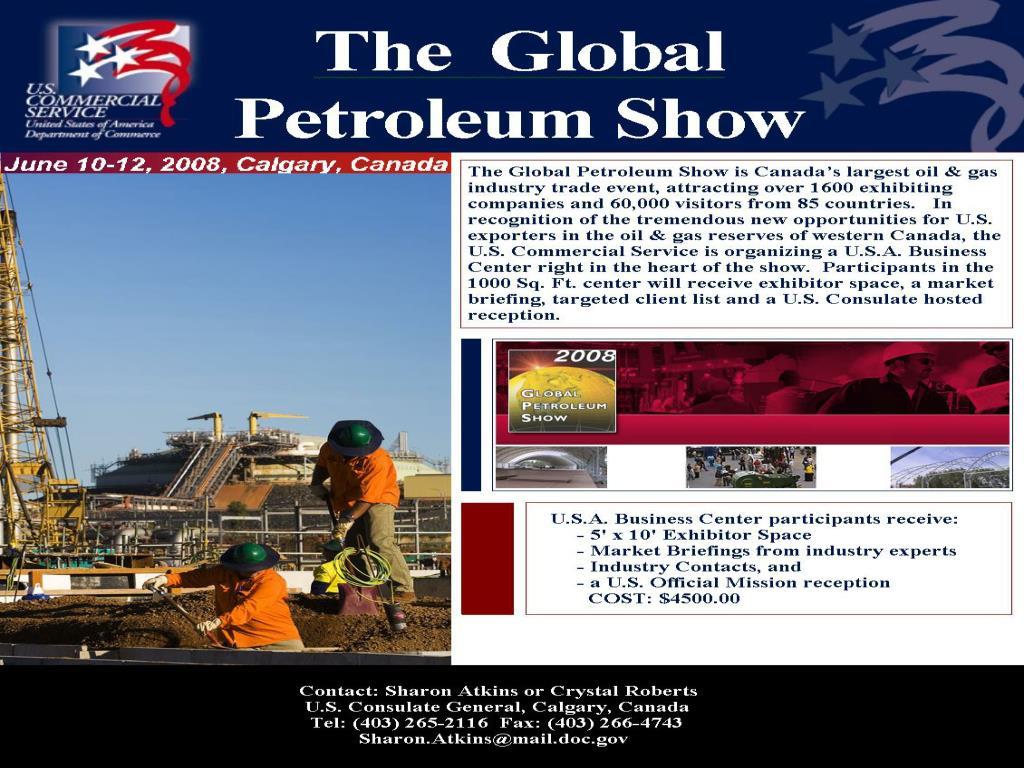 The Global Petroleum Show