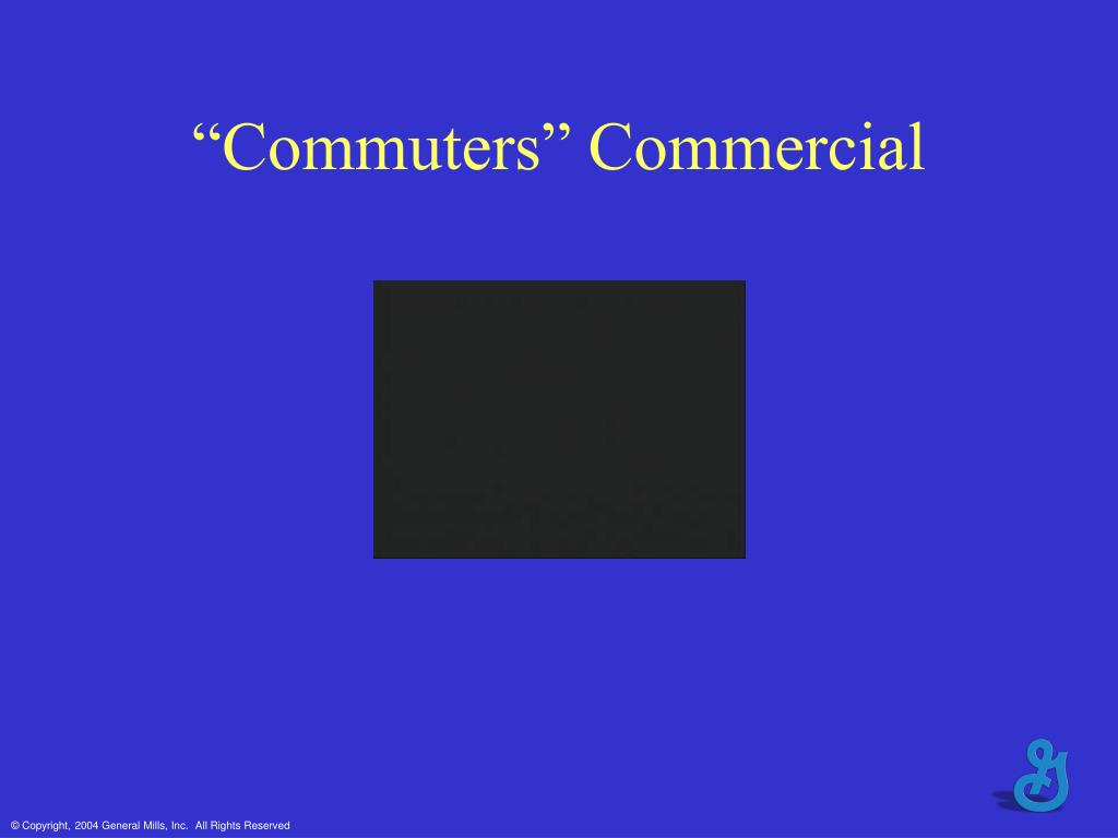 """Commuters"" Commercial"