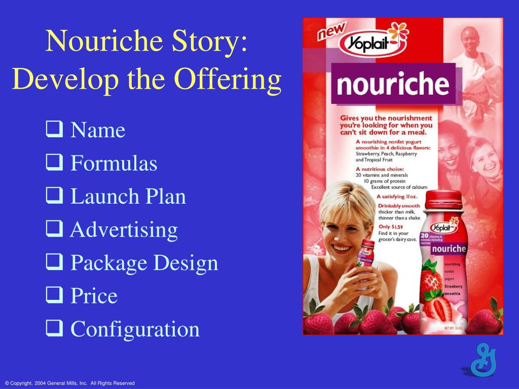 Nouriche Story: Develop the Offering