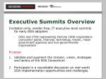 executive summits overview