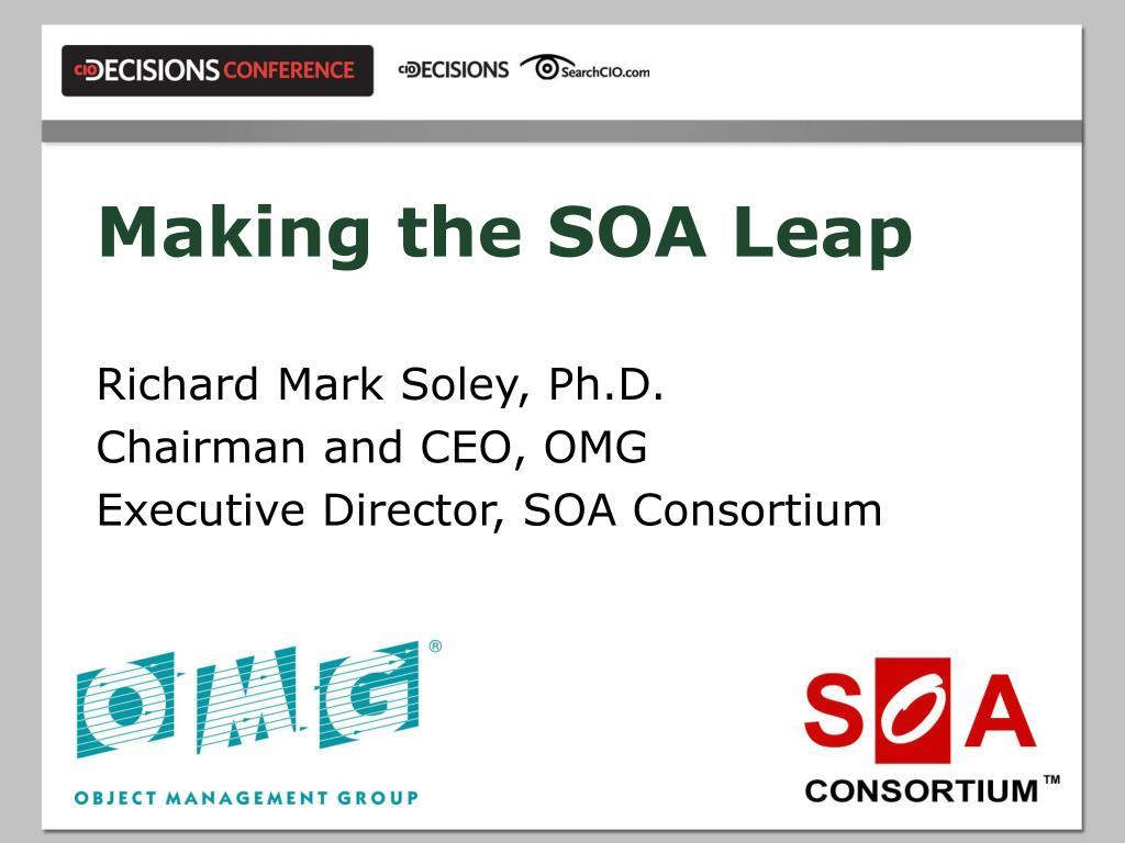 making the soa leap l.