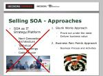 selling soa approaches
