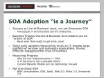 soa adoption is a journey