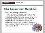 soa consortium members