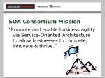 soa consortium mission