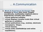 a communication10