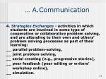 a communication11