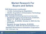 market research for buyers and sellers38
