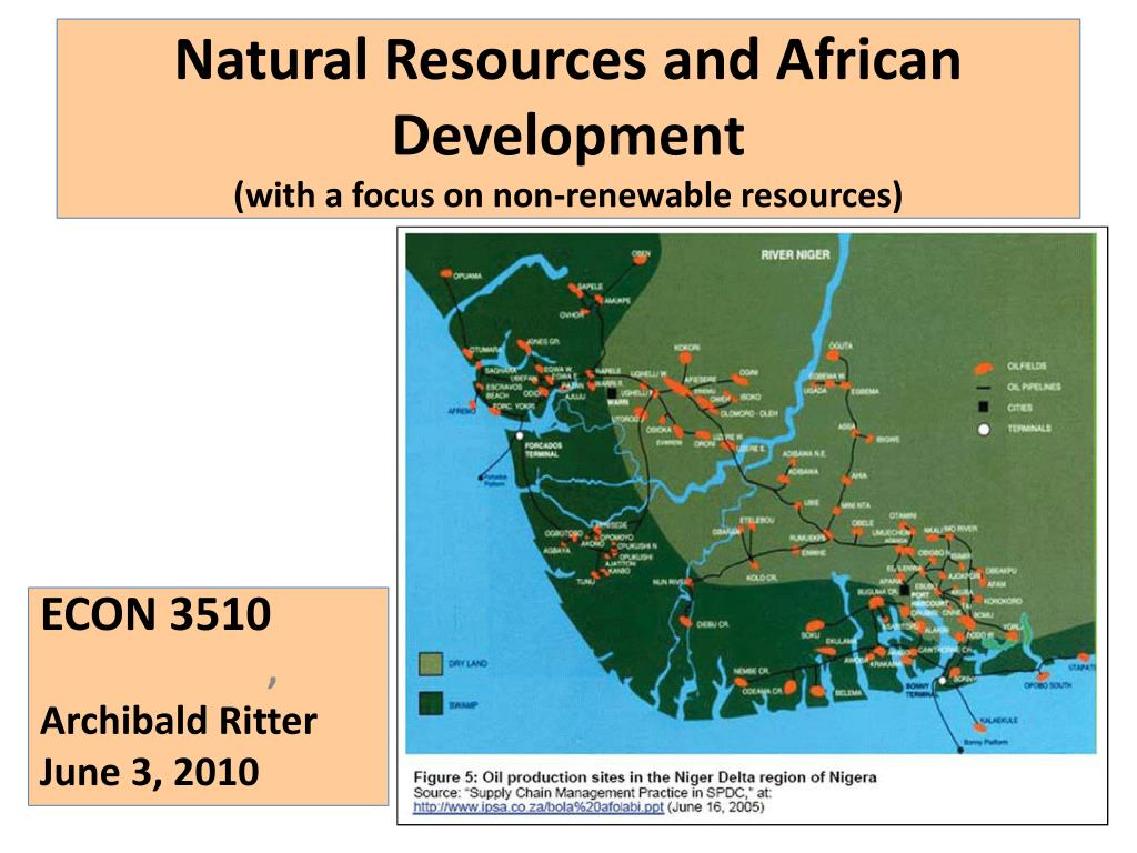 Natural Resources and African Development