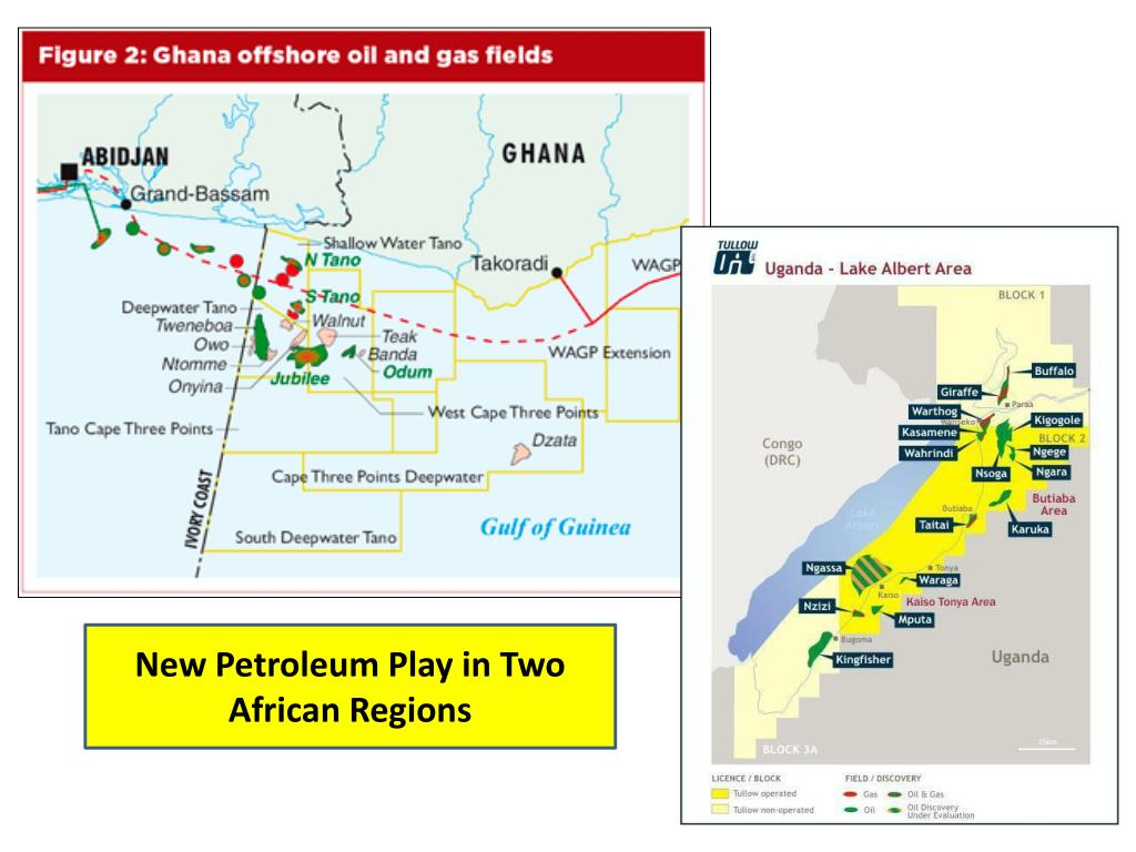 New Petroleum Play in Two African Regions