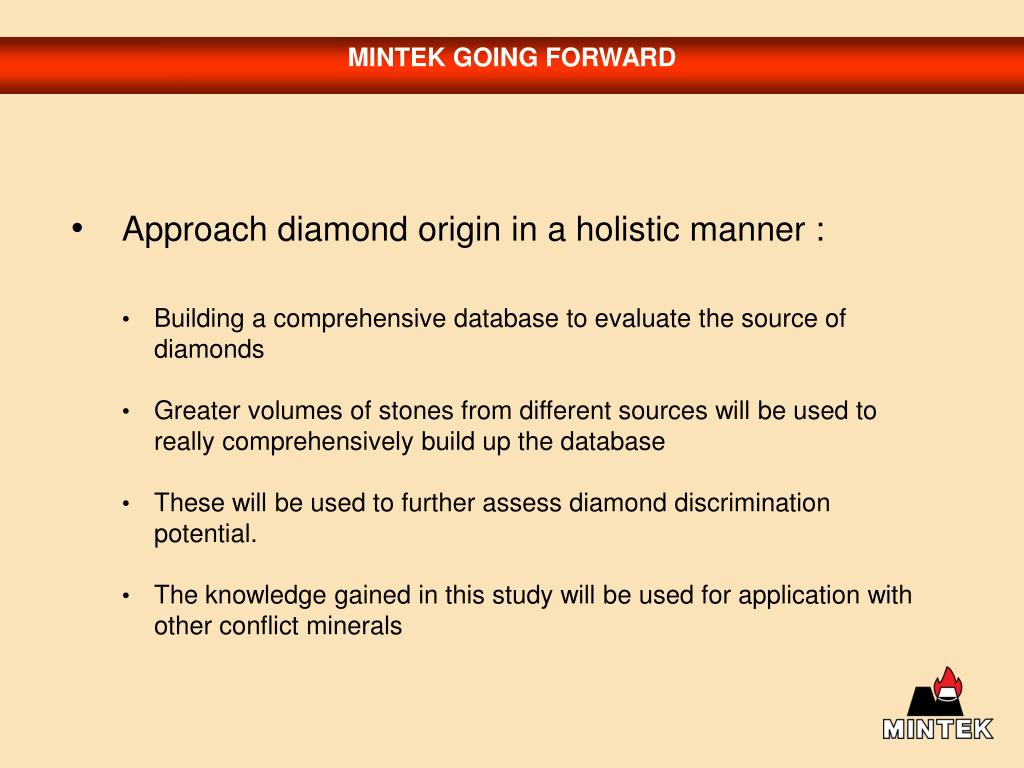 MINTEK GOING FORWARD