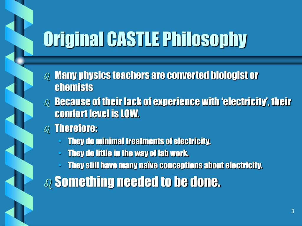 Original CASTLE Philosophy
