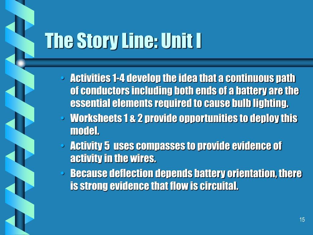 The Story Line: Unit I
