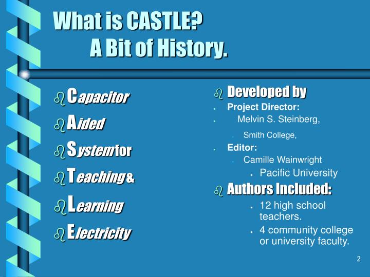 What is castle a bit of history