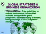 global strategies business organization11