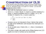 construction of 3 3