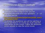 greenhouse effect part 2