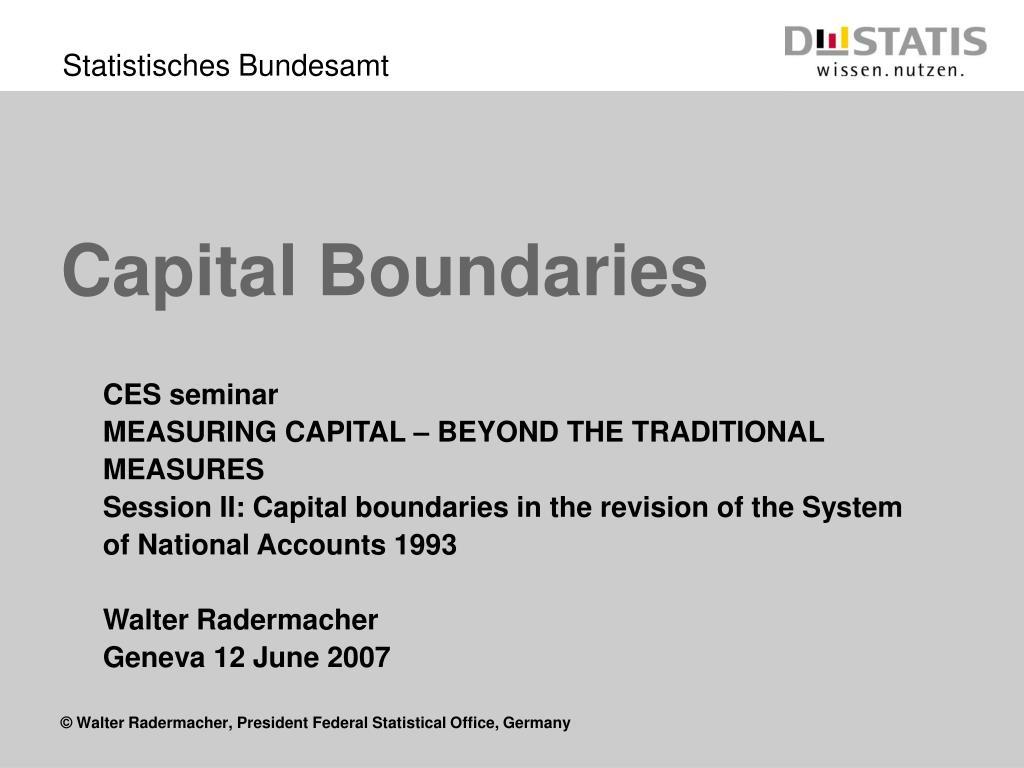 capital boundaries l.
