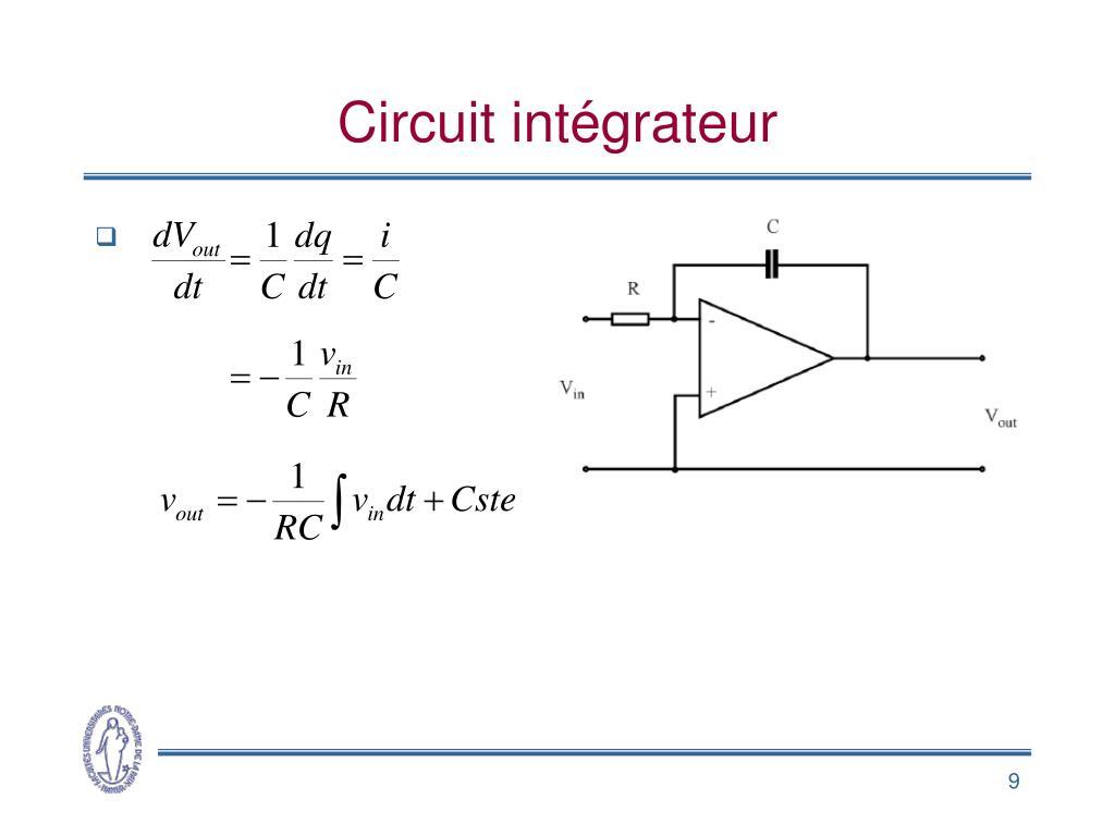 Circuit intégrateur