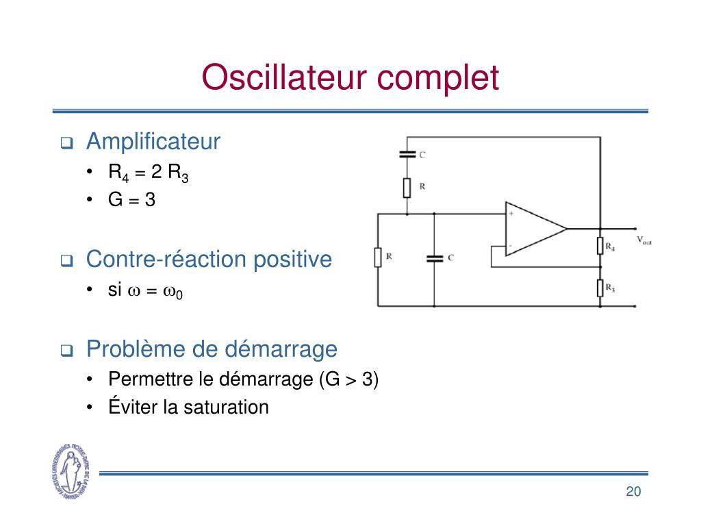 Oscillateur complet
