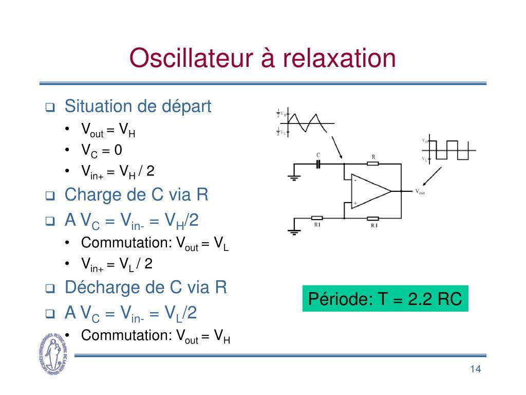 Oscillateur à relaxation