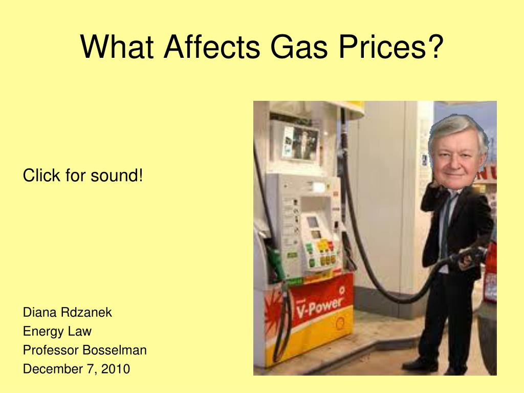 What Affects Gas Prices?