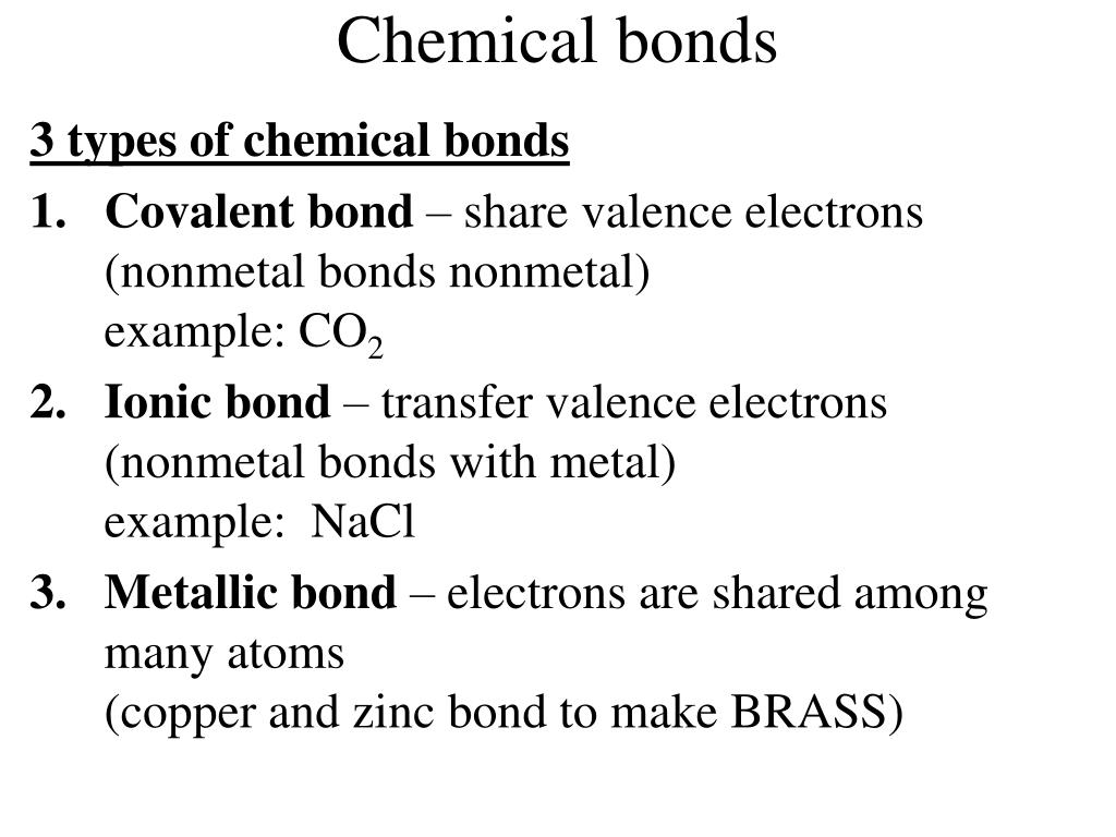 chemical notes